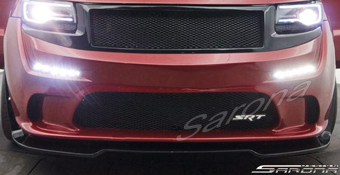 Custom Jeep Grand Cherokee  SUV/SAV/Crossover Front Bumper (2014 - 2019) - $980.00 (Part #JP-009-FB)